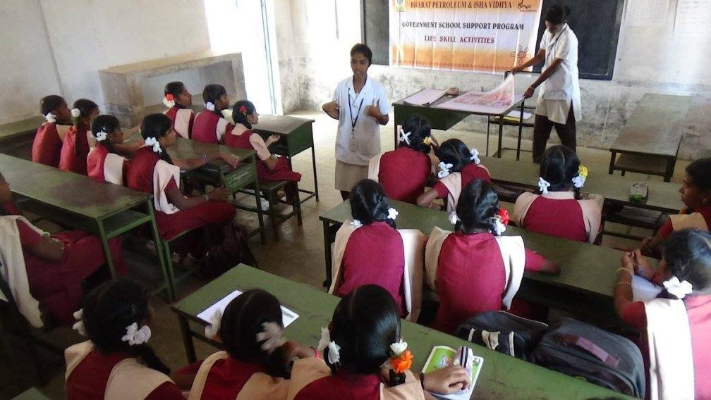 Life Skills in 10 Coimbatore Government Schools