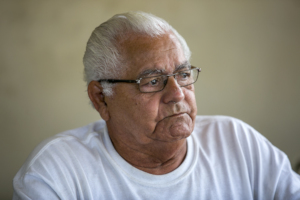 Roberto lives in an inherited home in Fajardo.