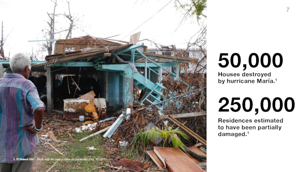 Puerto Rico emergency relief / long-term recovery