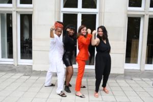 Marai Larasi, Nasra Ahmed, Emma Watson, Devi Leipe