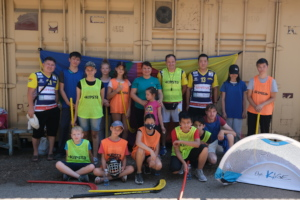 A 3-day floorball camp held at Salem this summer