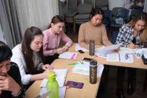 Teachers busy planning for adjusted courses