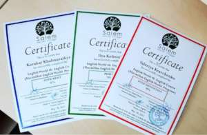 More certificates recently issued to our students