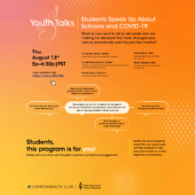 Youth Talks That PARTI Hosted