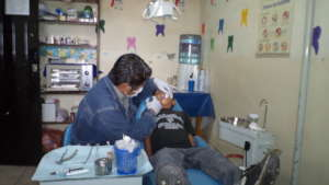 Atzin Dentist at Work