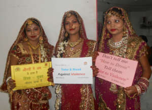 Support for stop Violence Against women's