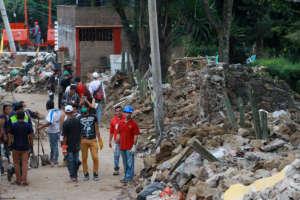 Street Scene in La Conchita