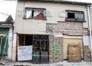 Damaged Home in San Gregorio