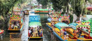 Trajinera Boats of Xochimilco
