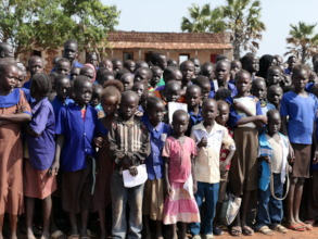 Students at the Zogolona School