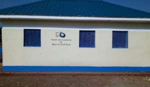 WFSS built latrines at Zogolona School