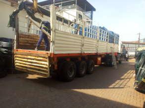 Loading trucks to begin season