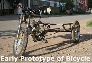 Early Prototype of Bicycle
