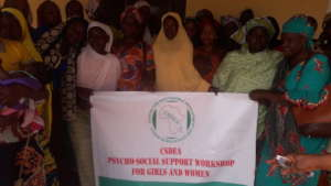Cross section of some project recipients