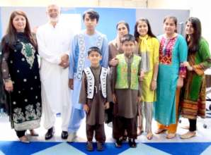 The Wardak Family from Afghanistan