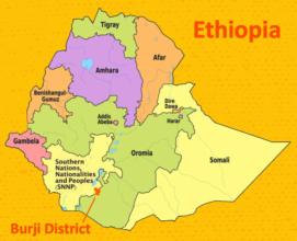 Burji District in Ethiopia