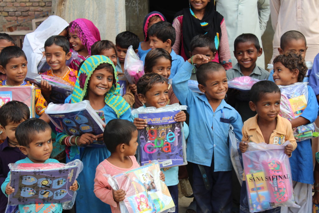 Give Quality Education to preschoolers in Pakistan