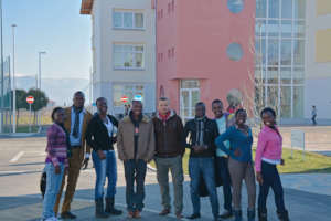 Nehemiah Gateway University Students on campus