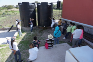 Rainwater Harvesting System in El Salitrillo