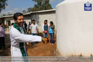Inauguration of a Rainwater Harvesting Cistern