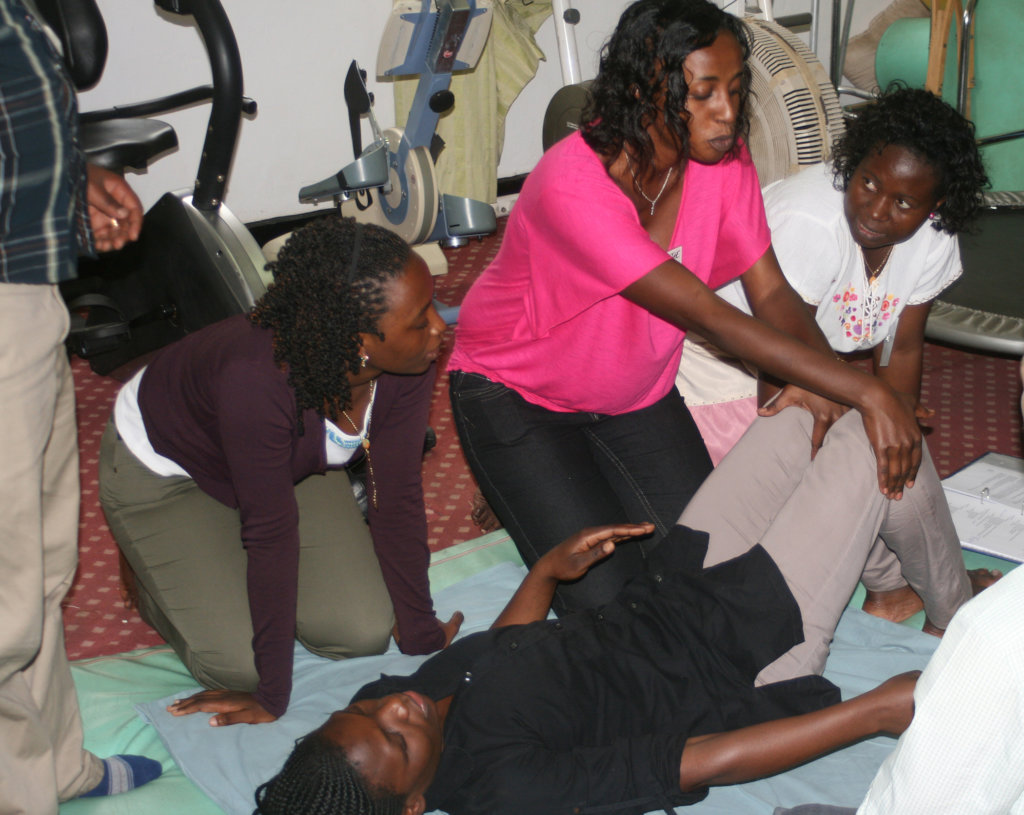 Online Physical Therapy Connections in Rwanda