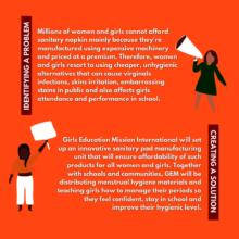 GEM Sustainable Model to Keep Girls in School