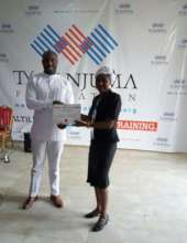 GEM Director receives Grant Award Certificate