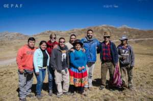EPAFs team in Ayacucho