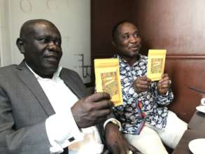 With chocolates made from beans from Ghana