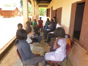 School Committee and PTA having a meeting