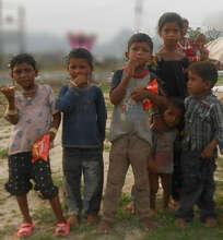 poor street children