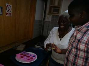 Making soap with one to one support