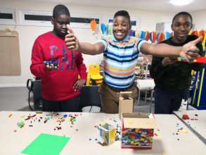 Lego therapy and play for creativity