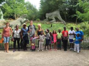 Family Day Out trip at Crystal Palace