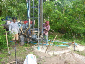 drilling a well