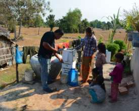 Teaching A Family How To Use Their Water Filter