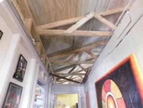 Edgardo's Roof, Interior Hallway View