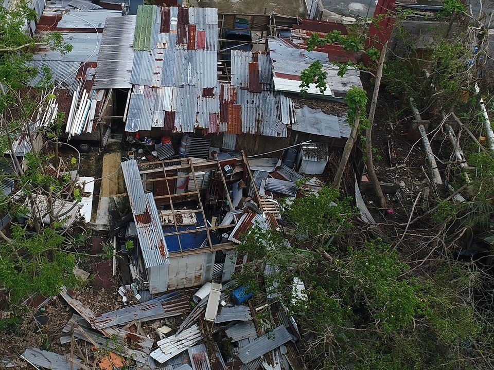Hurricane Maria-From tarps to roofs in Puerto Rico