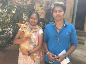 Orphaned Pet Meenu Finds Her Forever Home