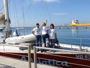 Project leader at LabBoat edu event in Cagliari