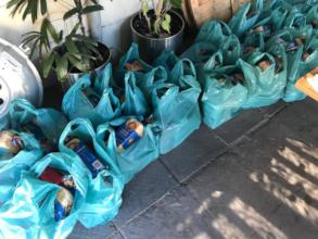 Food ready for distribution by ORT SA CAPE