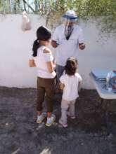 Juan Daniel  explaining project