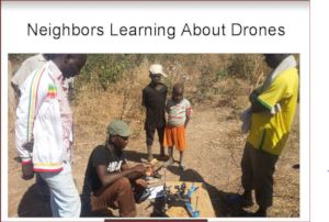 This drone lesson is AGILE farm
