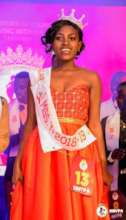 Vivian crowned the Miss Young Positives 2018/2019