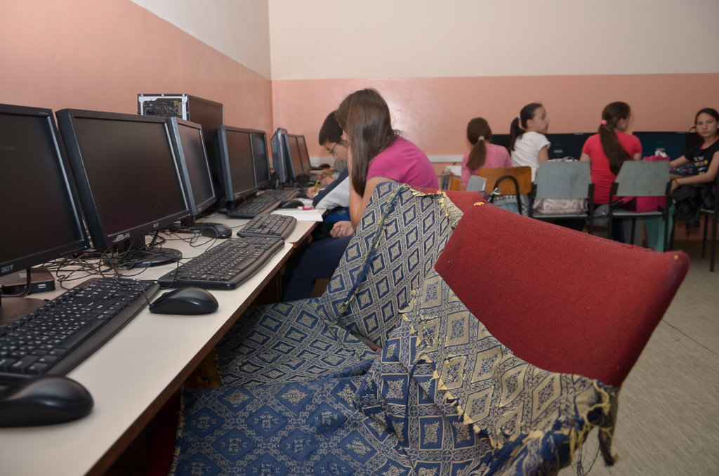 Let's create computer classroom for 504 students!