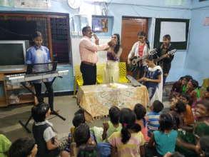 Birth Day Celebration of a Children Home Girl