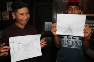 Misael and Isreal committed to reach their goal