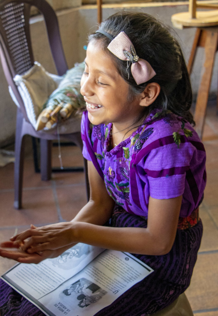 Empower Maya Weavers' Children through Education