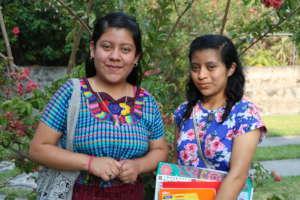 Yulissa and Chonita, cousins and future teachers