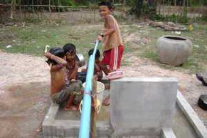 Using One Of Trailblazer's Pull Pump Well
